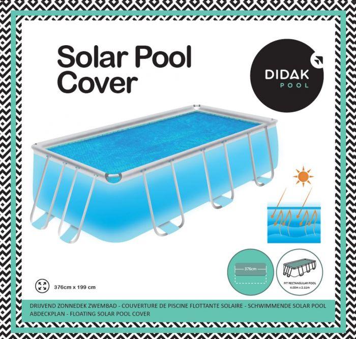 Solar Cover 4.00 Power Steel Rechthoekig