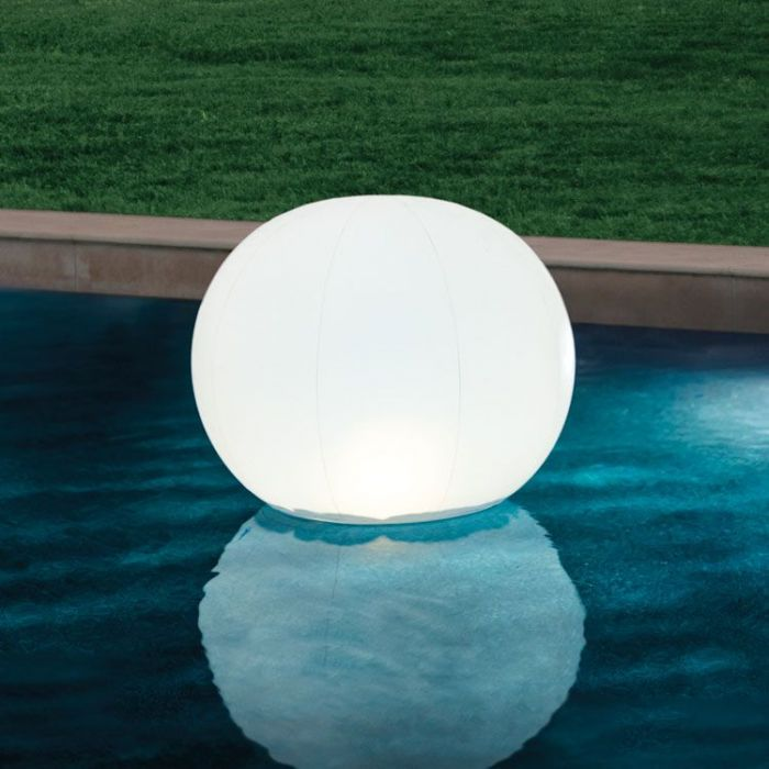 Drijvende bol met LED verlichting 89 x 79 cm - Intex