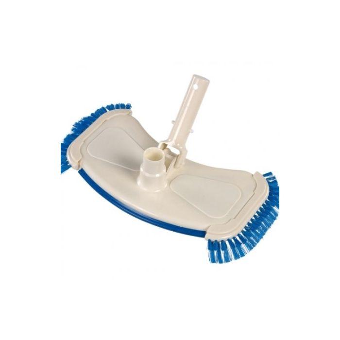 Grote verzwaarde vacuümkop met zijborstels