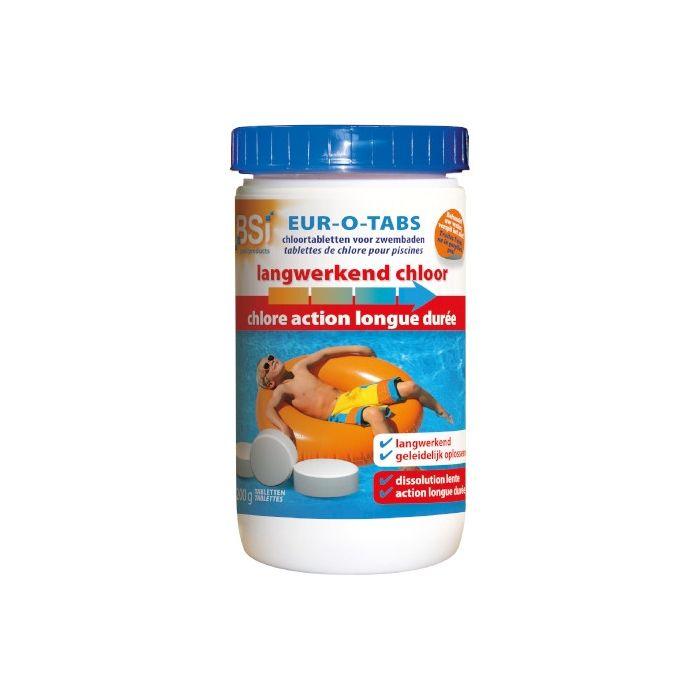 Chlorine Slow 200 g Tabs 1 Kg