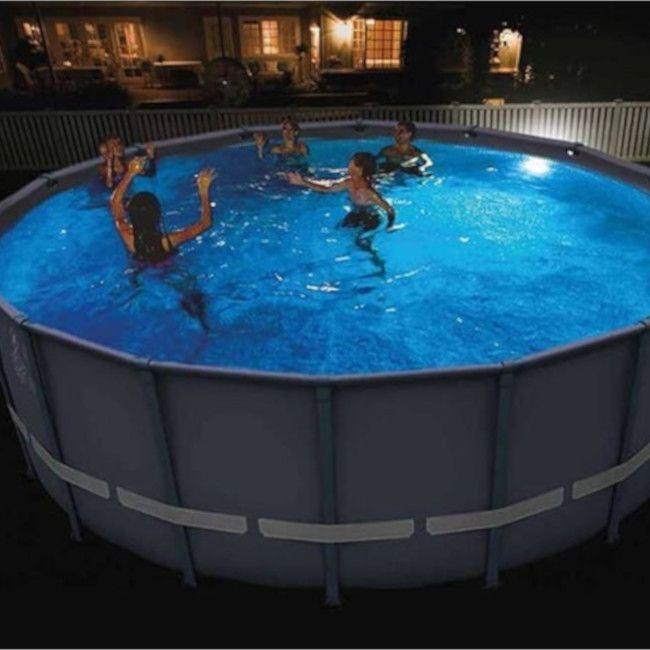 Intex magnetische LED wandlamp zwembad
