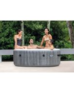 4 Persoons Greywood Bubble Deluxe - Intex PureSpa