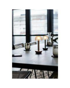 Humble Two LED lamp (goud rookglas)