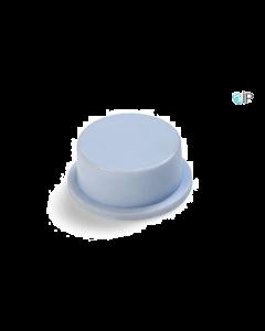 Witte rubberdop voor afsluiting luchtbed