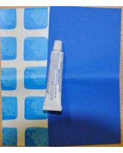 Repairkit blauwe zwembaden
