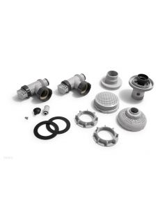 "LARGE POOL 1-1/2"" (38MM) INLET AND OUTLET FITTINGS SET FOR PUMP W/ SYSTEM FLOW RATE1050-1900GPH (IO)"