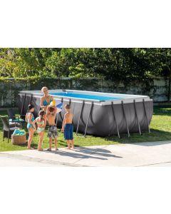 549 cm x 274 cm x 132 cm - Intex Ultra Frame Pool