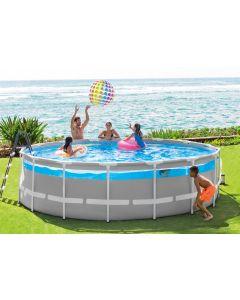 Ø 488 x 122 cm - Intex Clearview Prism Frame Premium zwembad