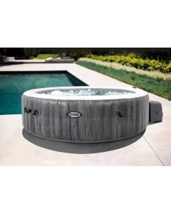 6 Persoons Greywood Bubble Deluxe - Intex PureSpa