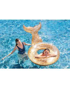 Glitter Zeemeermin Zwemband