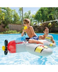 Intex 57537NP Water Gun Plane Ride On