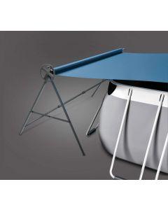Oprolsysteem voor bovengrondse zwembaden (380cm)