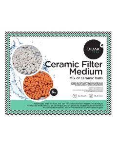 Ceramic Filter Medium – Mix 3 soorten Keramische balletjes 3.0 – 4.0 mm – 6 kg