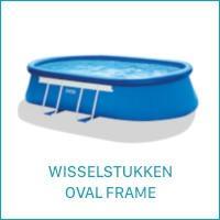 Intex Wisselstukken voor de Oval Frame Zwembaden