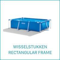 Intex Wisselstukken voor de Rectangular Frame Zwembaden