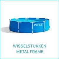 Intex Wisselstukken voor de Metal Frame Zwembaden