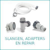 Intex slangen, koppelstukken en repair